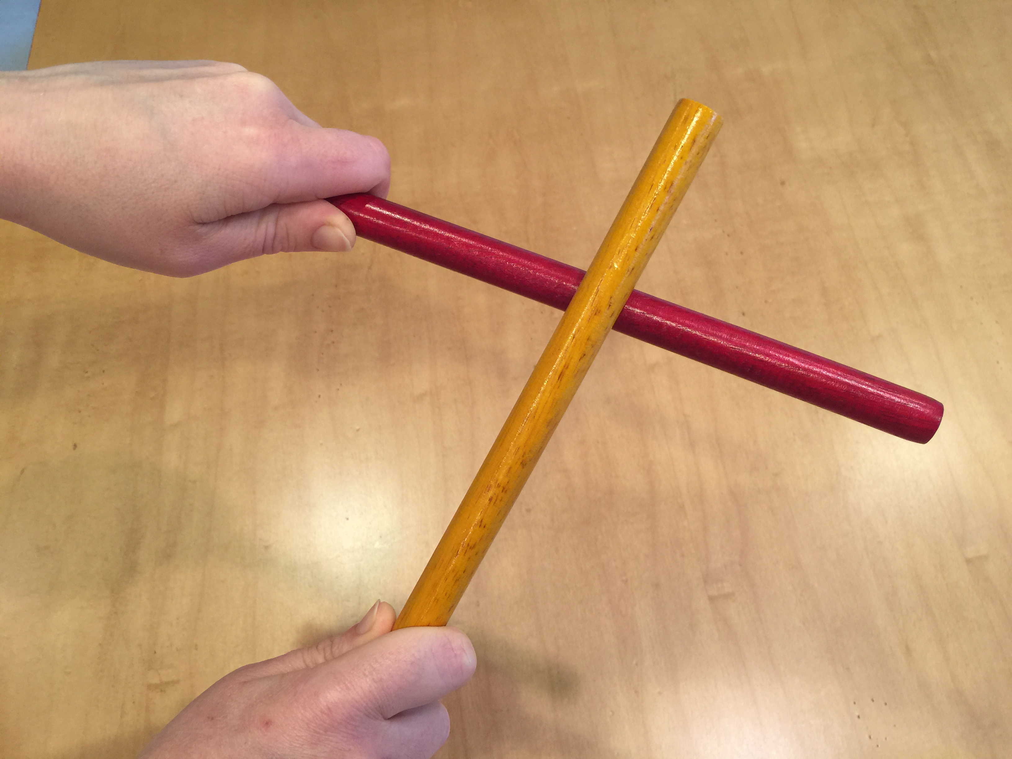 I Will Follow God's Plan for Me: Rhythm Sticks for Younger Children