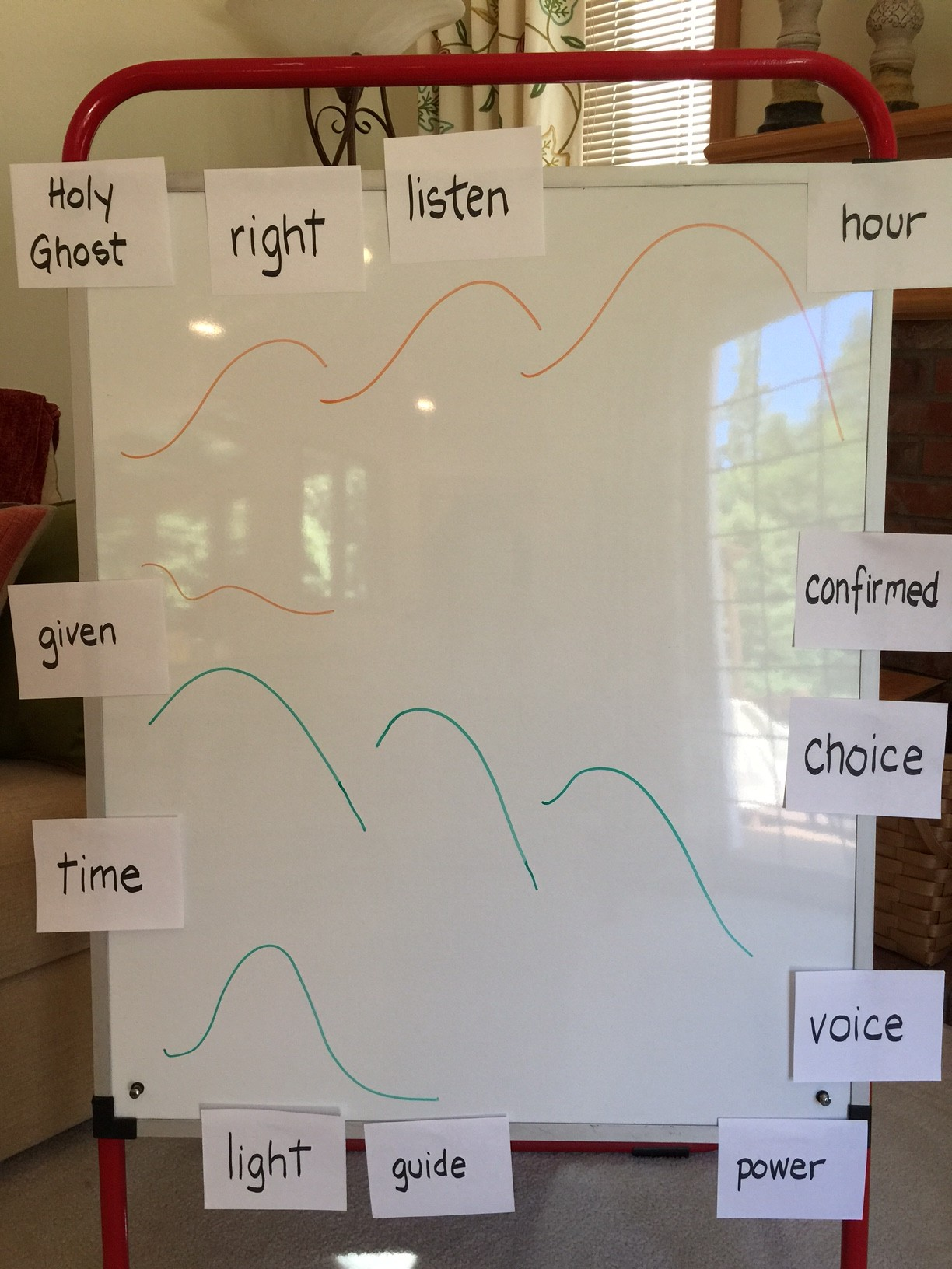 The Holy Ghost: Mountain Melody Map and the Second Verse for Older Children