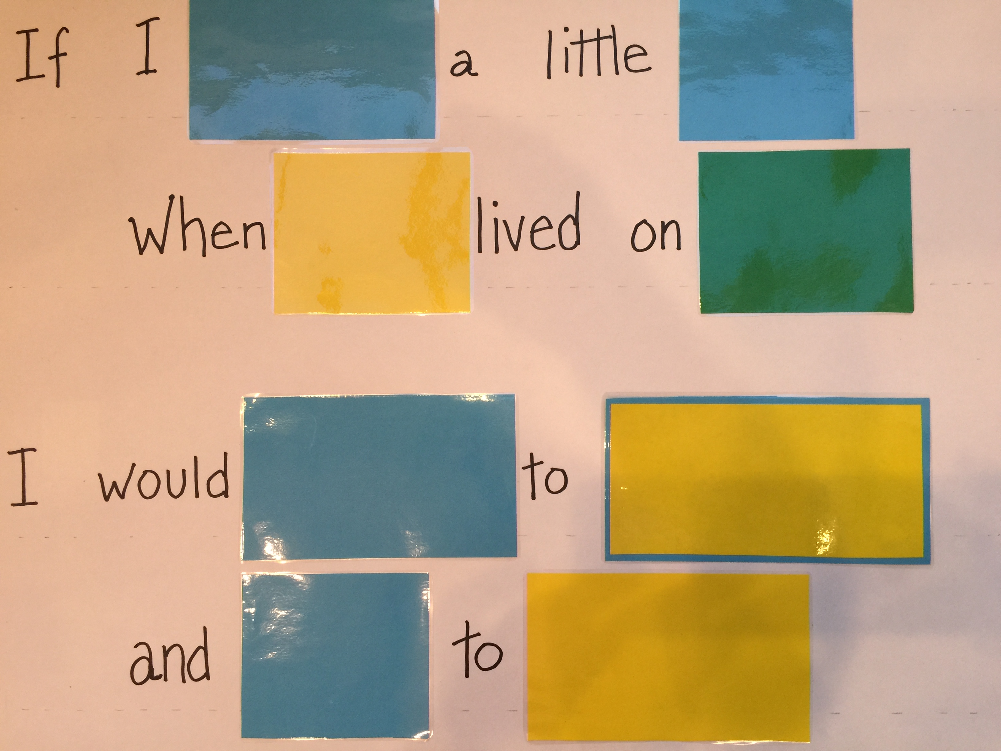 If I Listen with my Heart Word Puzzle- Older Children