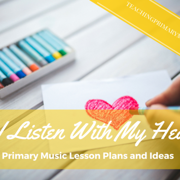 If I Listen with My Heart: Monthly Plan for Verses 1, 2, and 3