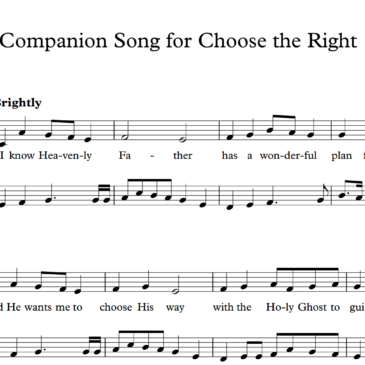 Choose the Right Companion Song