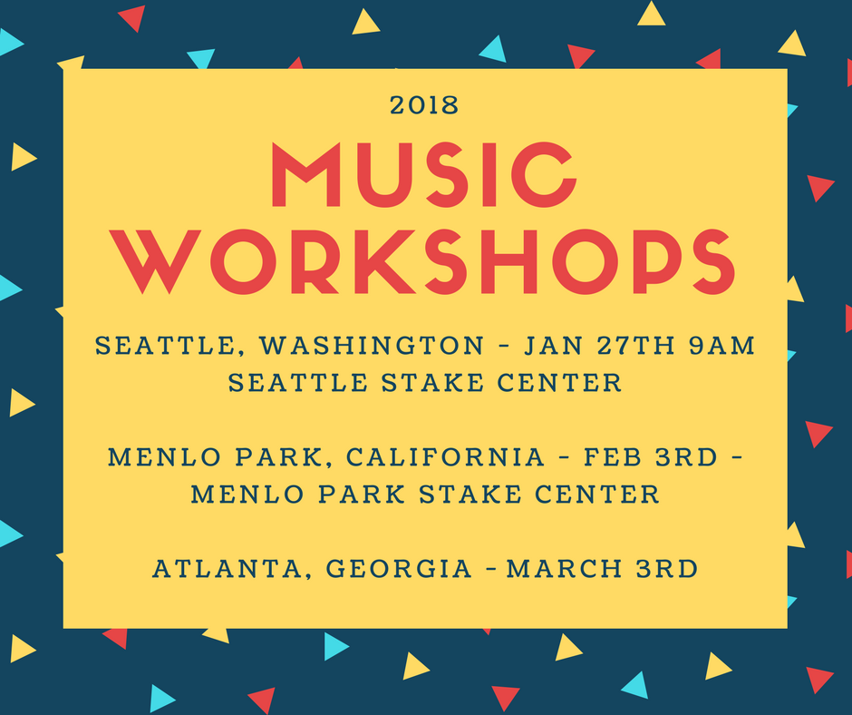 Upcoming Workshops in 2018