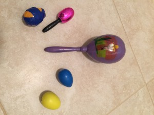 If the Savior Stood Beside Me:  Egg Shaker Patterns