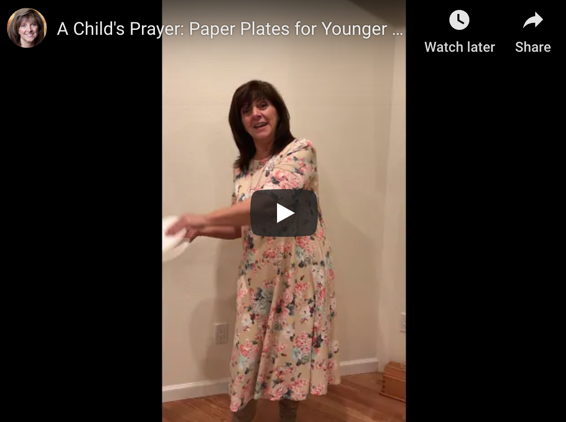 A Child's Prayer: Paper Plates