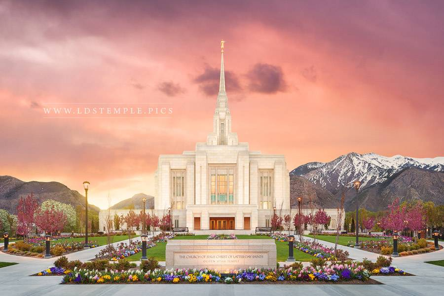 Monthly Plan for I Love to See the Temple:  Ideas for Younger and Older Children